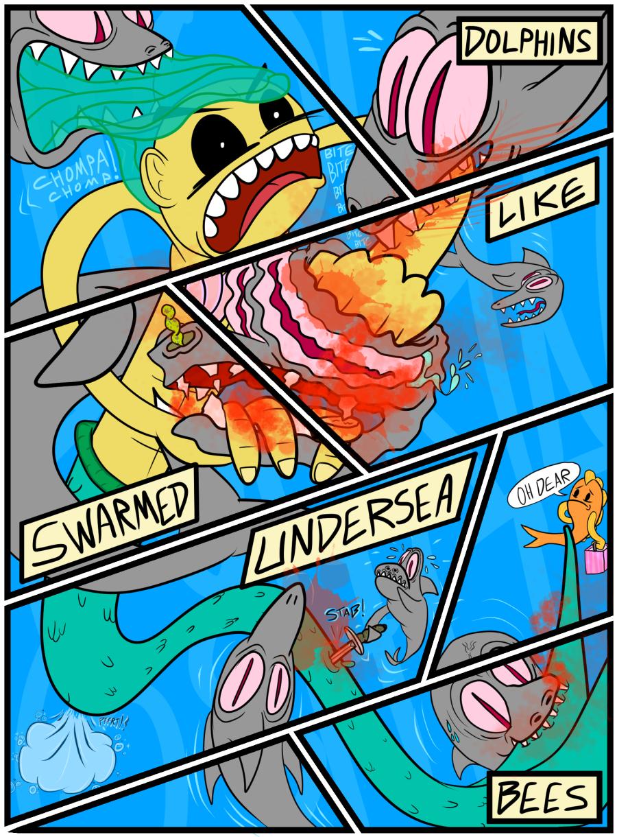 Mermaid Evolution: Revolution Page 13