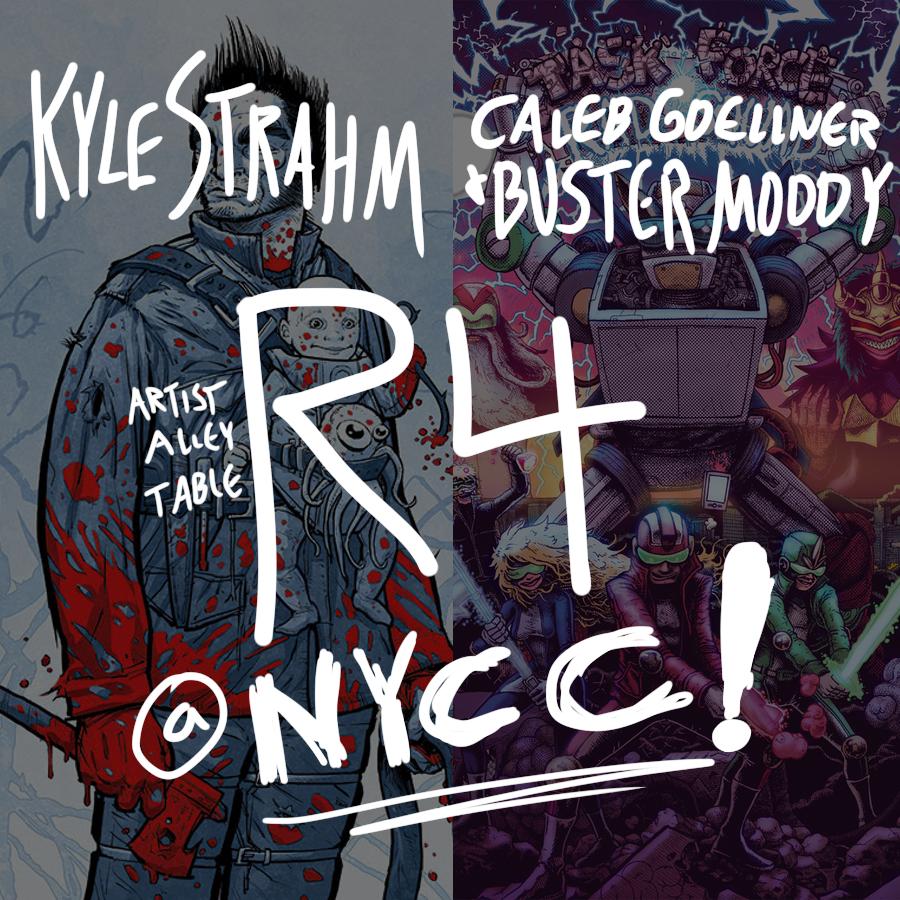 caleb goellner artist alley nycc r4