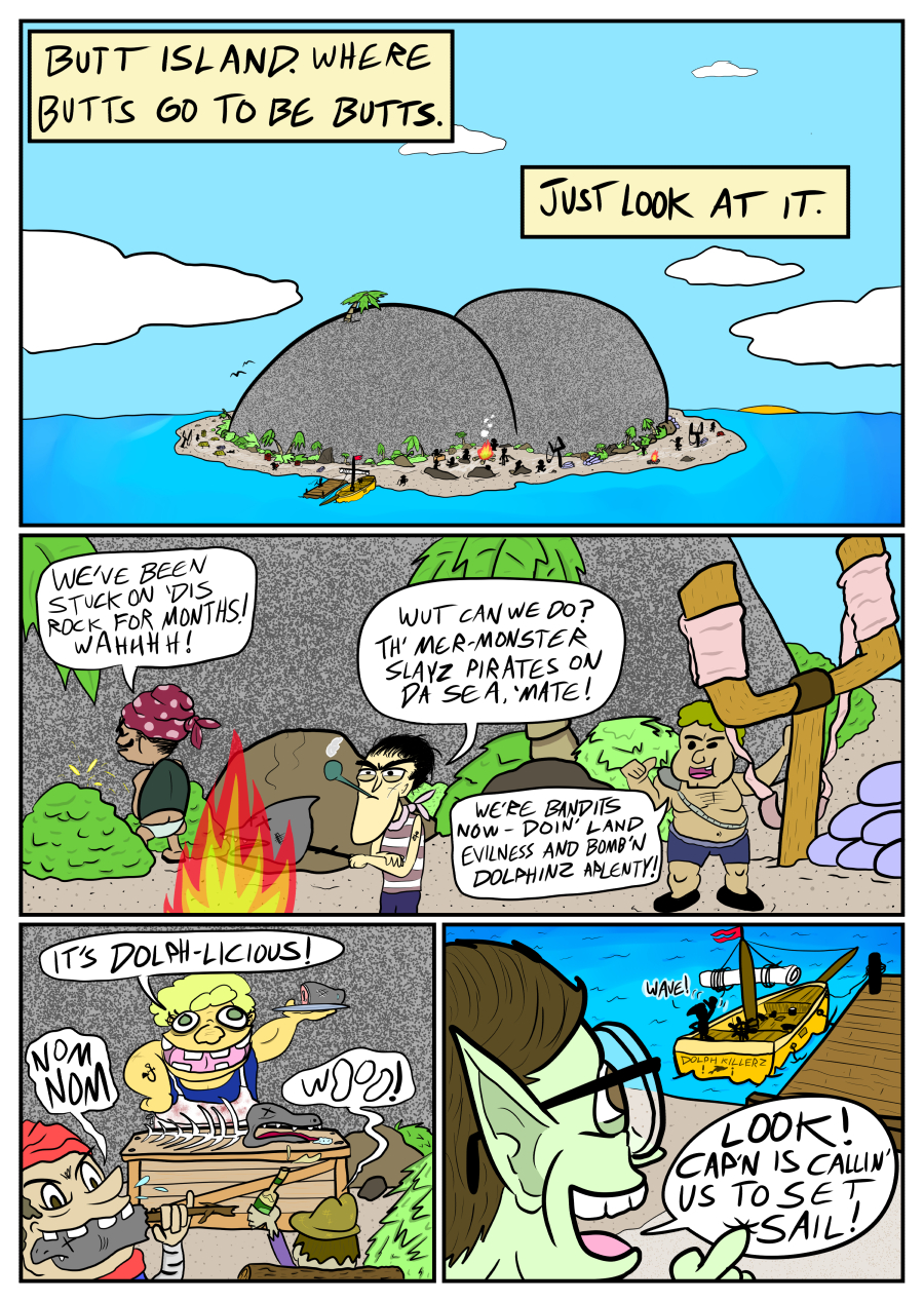 Mermaid Evolution Vol. 3 PG 1
