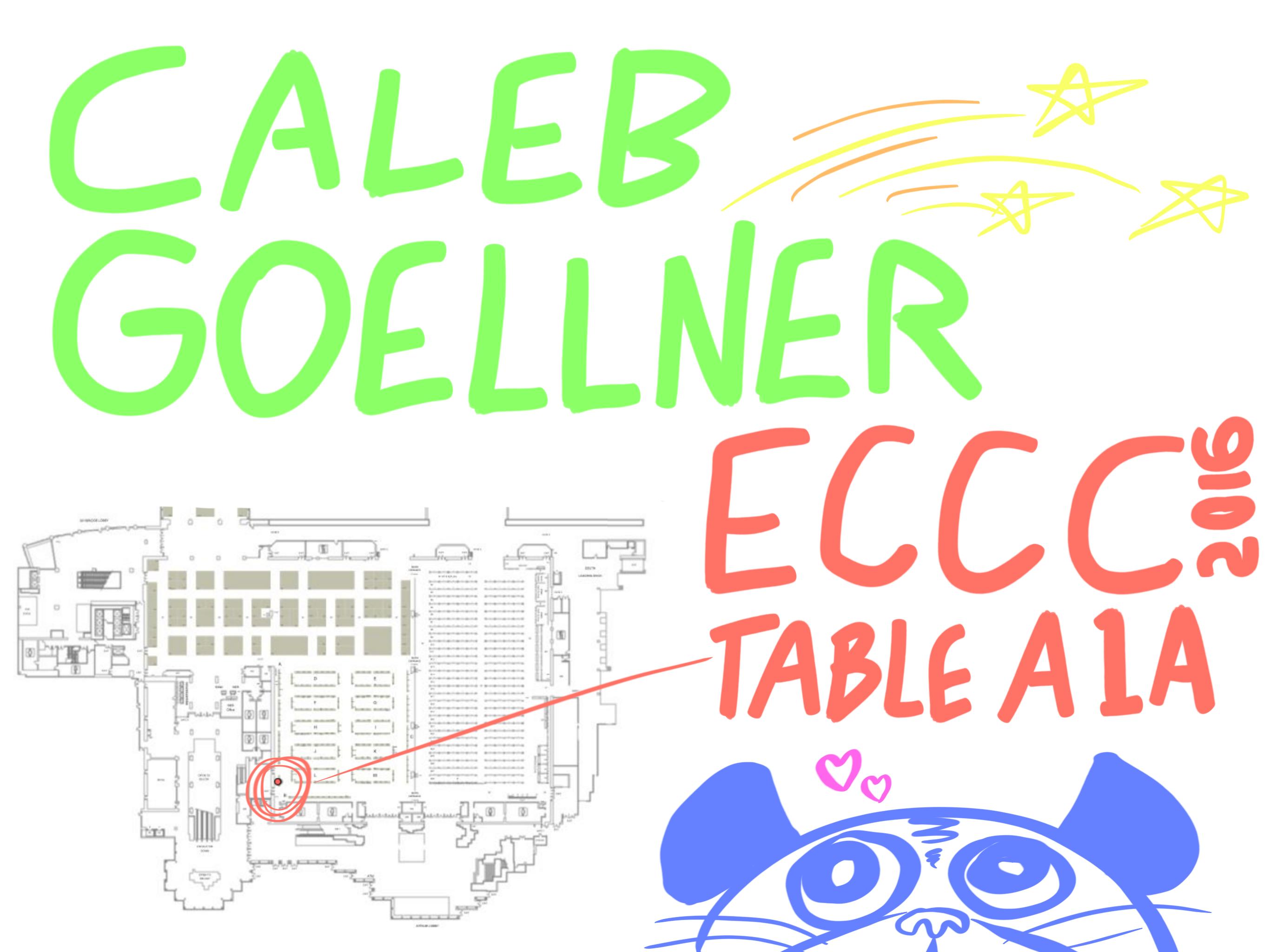 Caleb Goellner ECCC 2016