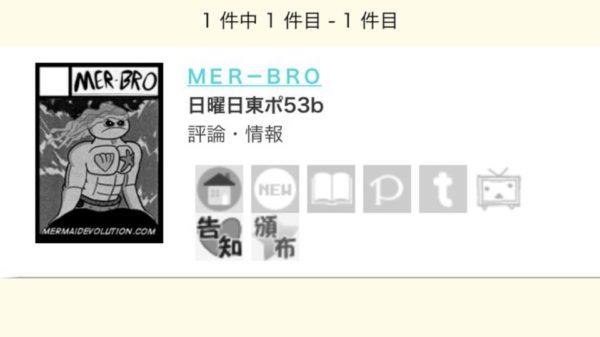 Comiket 90 Circle Mer-Bro