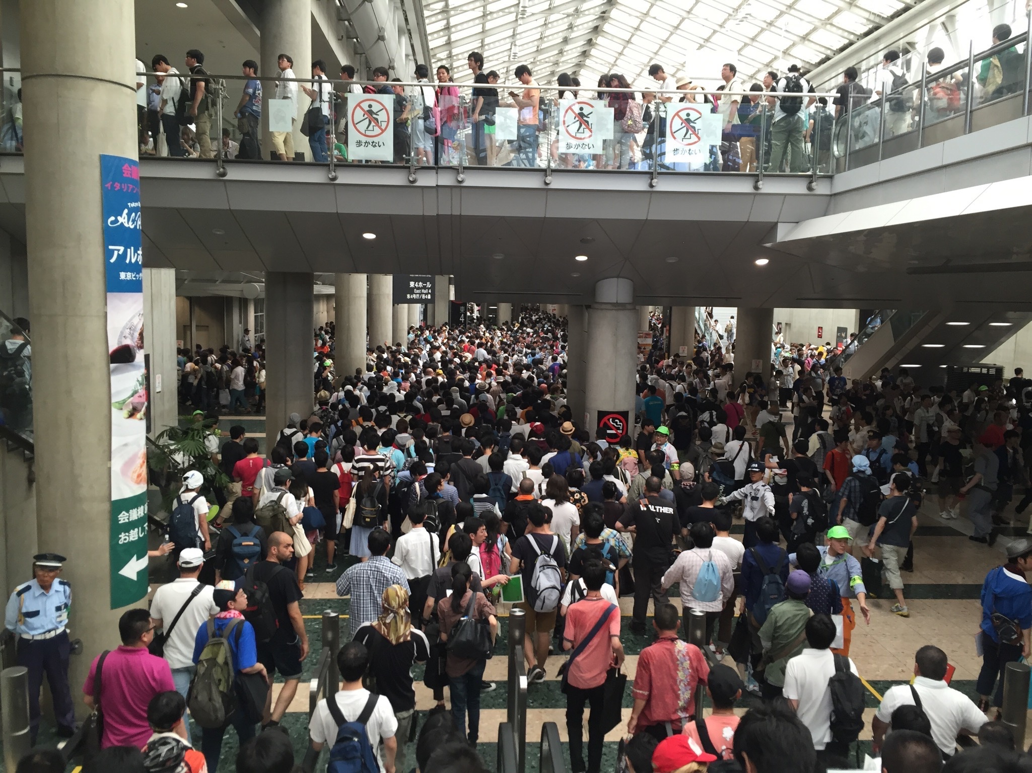 comiket 90 crowds