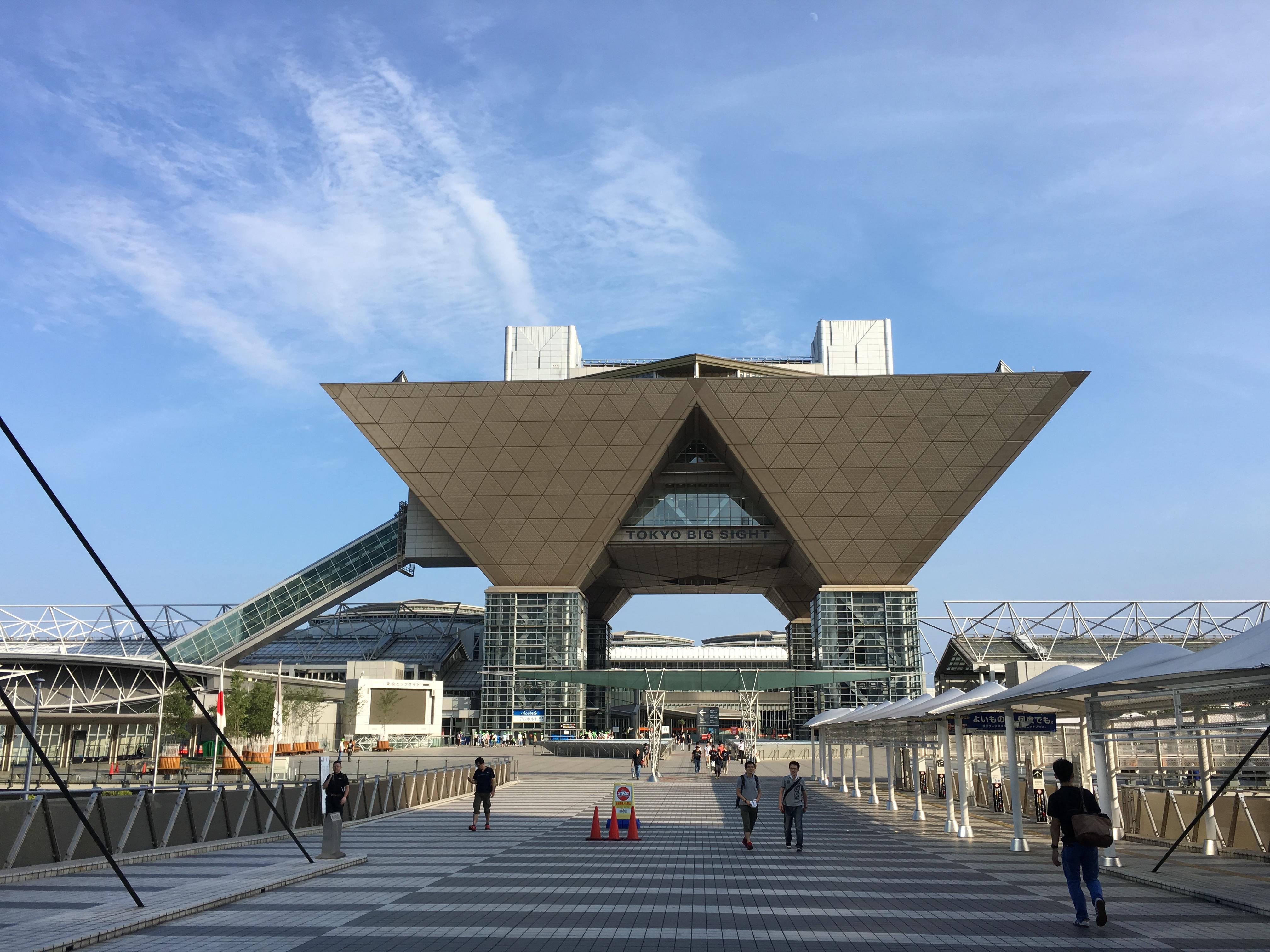 Tokyo Big Sight 2016 Comiket