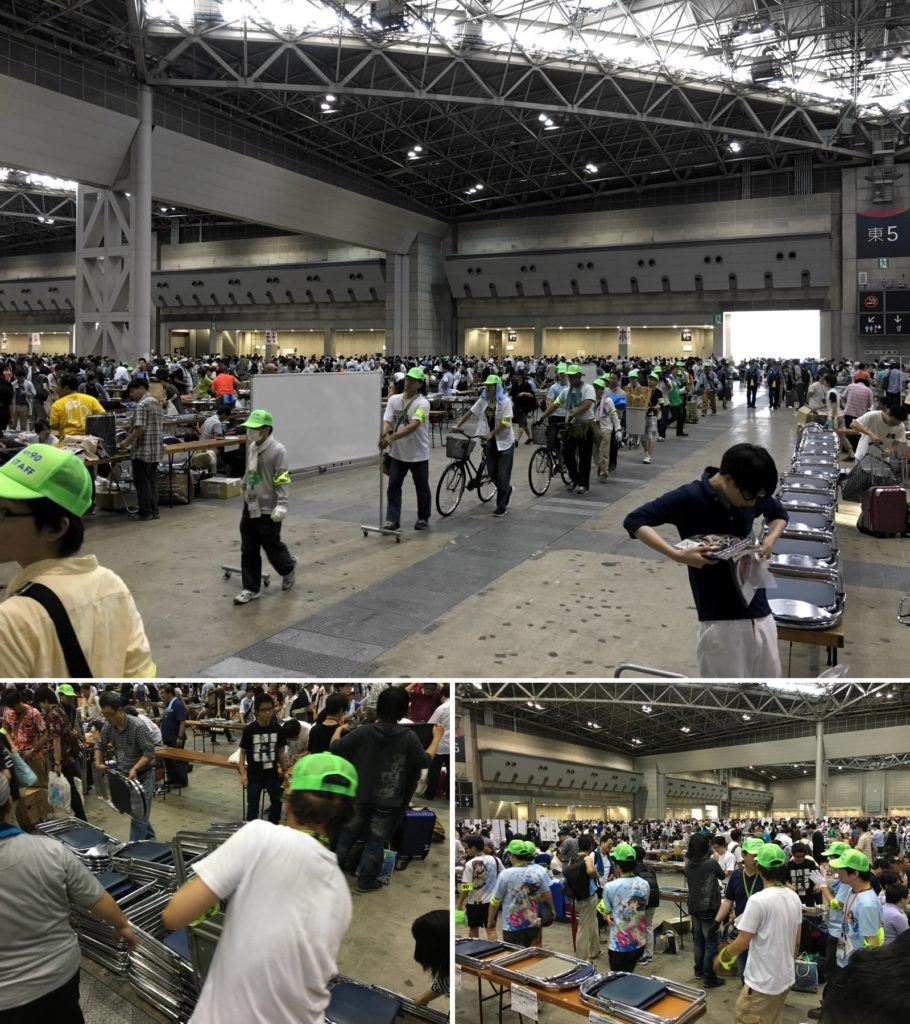 comiket 90 volunteers